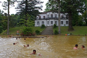 Thermalbad in Furnas